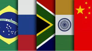 Bandeiras BRICS (BBC)