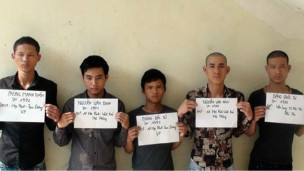 Các nghi phạm sát hại Nguyễn Tuấn Anh