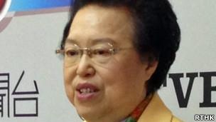 香港区全国人大代表谭惠珠(31/3/2013)