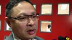 戴耀廷接受媒體記者採訪(香港電台圖片17/3/3012)