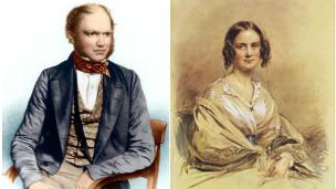 Charles Darwin y Emma Wedgwood