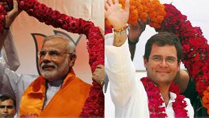 राहुल गांधी और मोदी