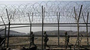 Frontera entre las Coreas
