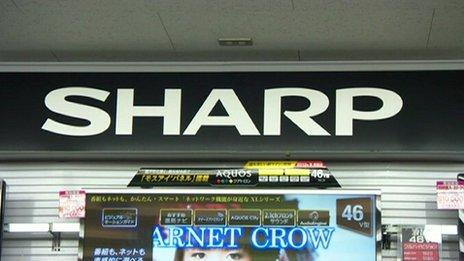 Tienda de Sharp en Japón