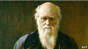 Charles Darwin / AFP