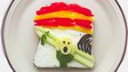 Ida Frosk toast art of 'Scream' painting