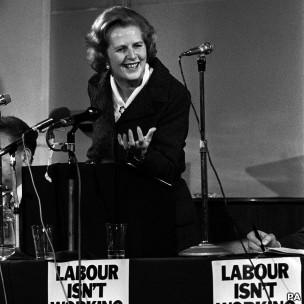 Margaret Thatcher, 3 de marzo de 1979