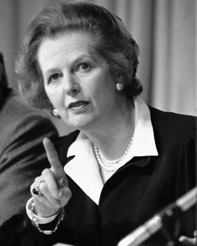 Margaret Thatcher, 31 de mayo de 1985