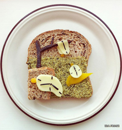 The Art Toast Project presents: Dali (The Persistence of Memory)