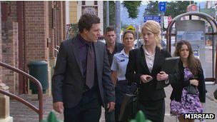 Imagen original de una escena antes de la incorporación