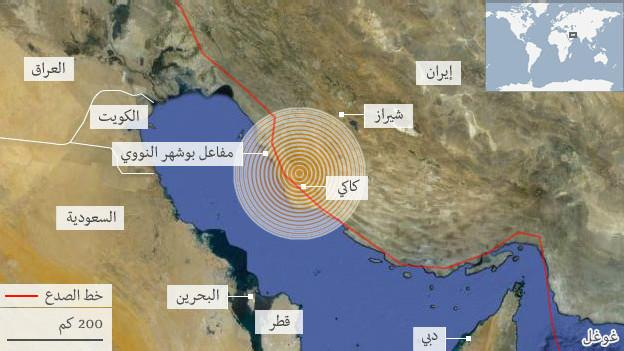 زلزال إيران: عشرات الهزات الارتدادية