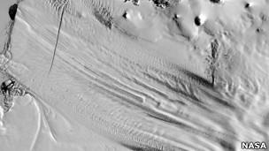 Paisaje en la Antártica