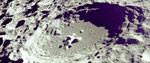 A moon crater