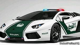Nuevas patrullas Lamborghini en Dubai