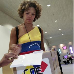 Electora en Caracas
