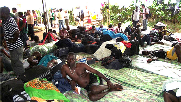 Inmigrantes en Acre Foto Fabio Pontes