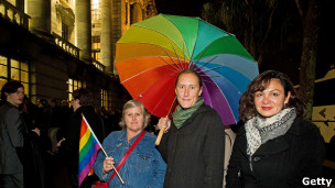 Casamento gay na Nova Zelândia | Foto: Getty