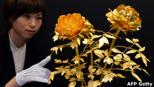 Flores de oro