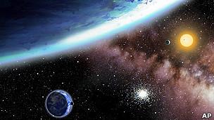 Kepler 62 y los dos planetas
