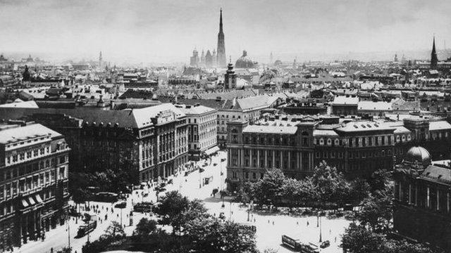 維也納老照片