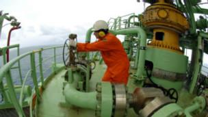 Plataforma da Petrobrás (Divulgação)