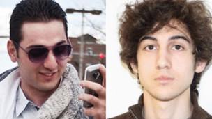 Irmãos Tsarnaev   Foto: AFP