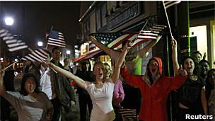Comemoração em Watertown (Reuters)