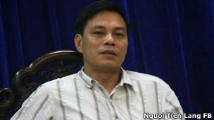 Ông Nguyễn Văn Tùng, chủ tịch huyện Tiên Lãng
