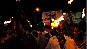 Protest against electricity price hike (file photo)