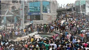 Dhaka building collapse