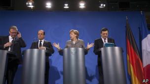 Dirigentes de la Unión Europea
