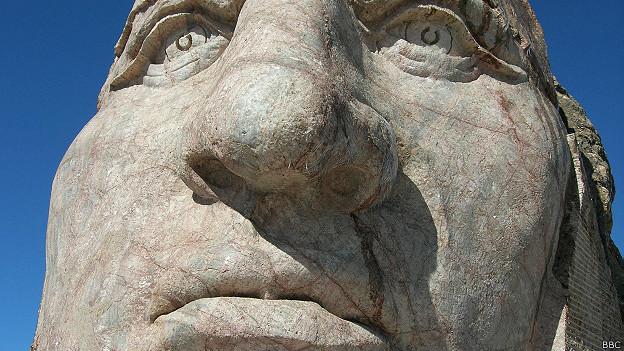 Escultura Crazy Horse, Dakota del Sur, EE.UU.