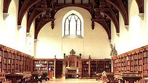 biblioteca del palacio de Lambeth