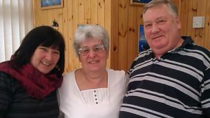 Carol Brothers y familia