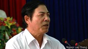 Ông Nguyễn Bá Thanh tiếp xúc cử tri 25/4