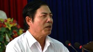 Trưởng ban Nội chính Nguyễn Bá Thanh