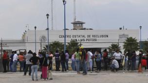 cárcel en San Luis Potosí