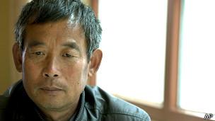 陈光福在北京接受采访(10/4/2013)