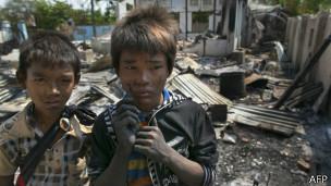 缅甸罗兴亚穆斯林儿童