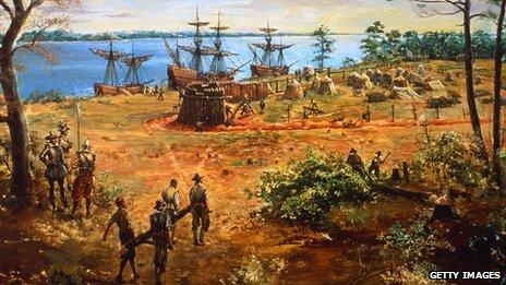 Fort James, Virginia