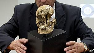 Cráneo de niña de mi 1609