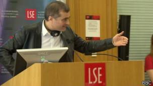 Владислав Сурков в Лондонской школе экономики