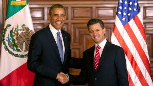 Barack Obama y Enrique Peña Nieto