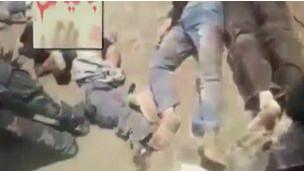 Imagen de video difundido por OSDH