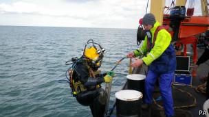 Mergulhadores (Foto PA)