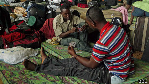 Haitianos no Acre (foto: BBC)