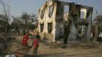 Cảnh tàn phá ở Meiktila