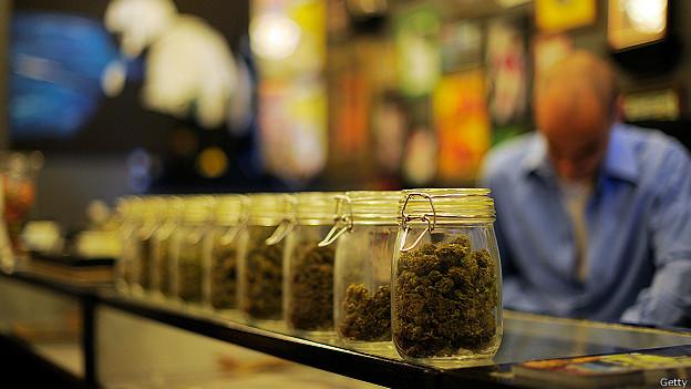 Marihuana a la venta