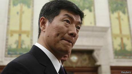 西藏流亡政府总理洛桑·桑盖(资料照片)