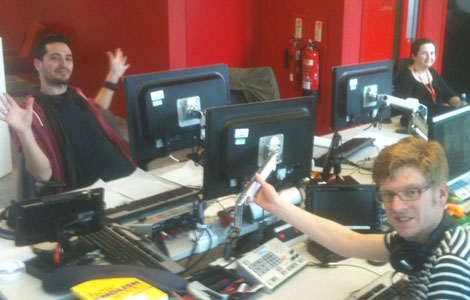 The BBC Learning English team in the office